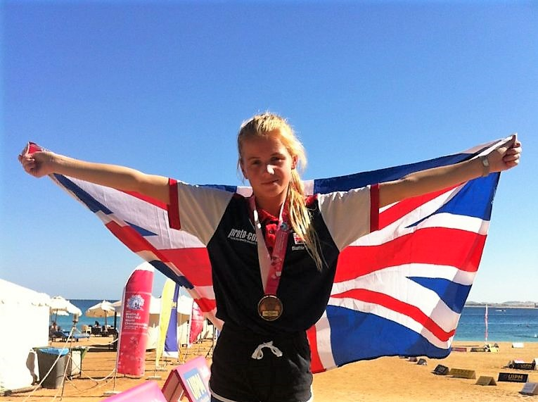 Bay Pupil Larissa Brings Home Bronze From World Championships