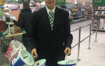 Pupils support the local community with charity fundraising projects