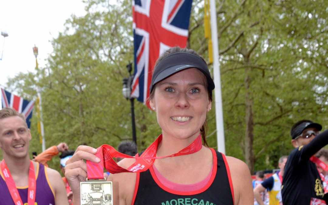 Teacher's London Marathon joy after raising money for Scouts