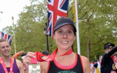 Teacher's London Marathon joy after raising money for Scouts