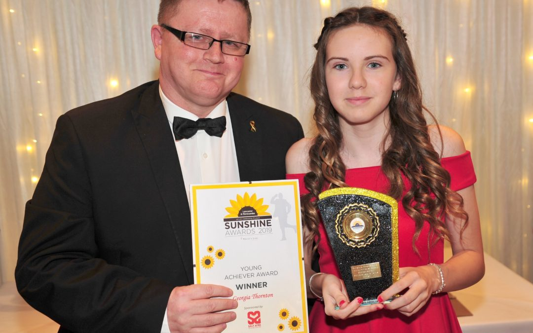 Pupils shine at Sunshine Awards