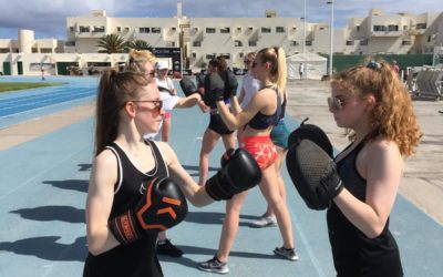 Pupils are good sports during annual Lanzarote camp
