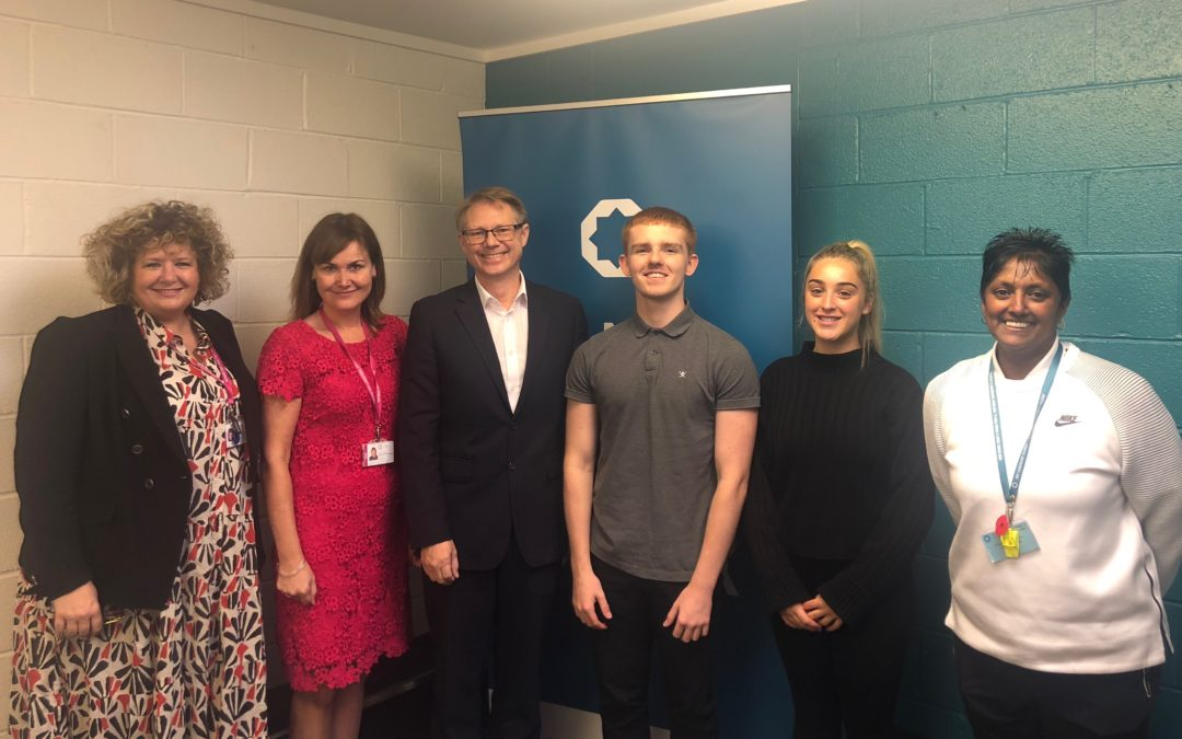 David Morris MP visits Bay Leadership Academy