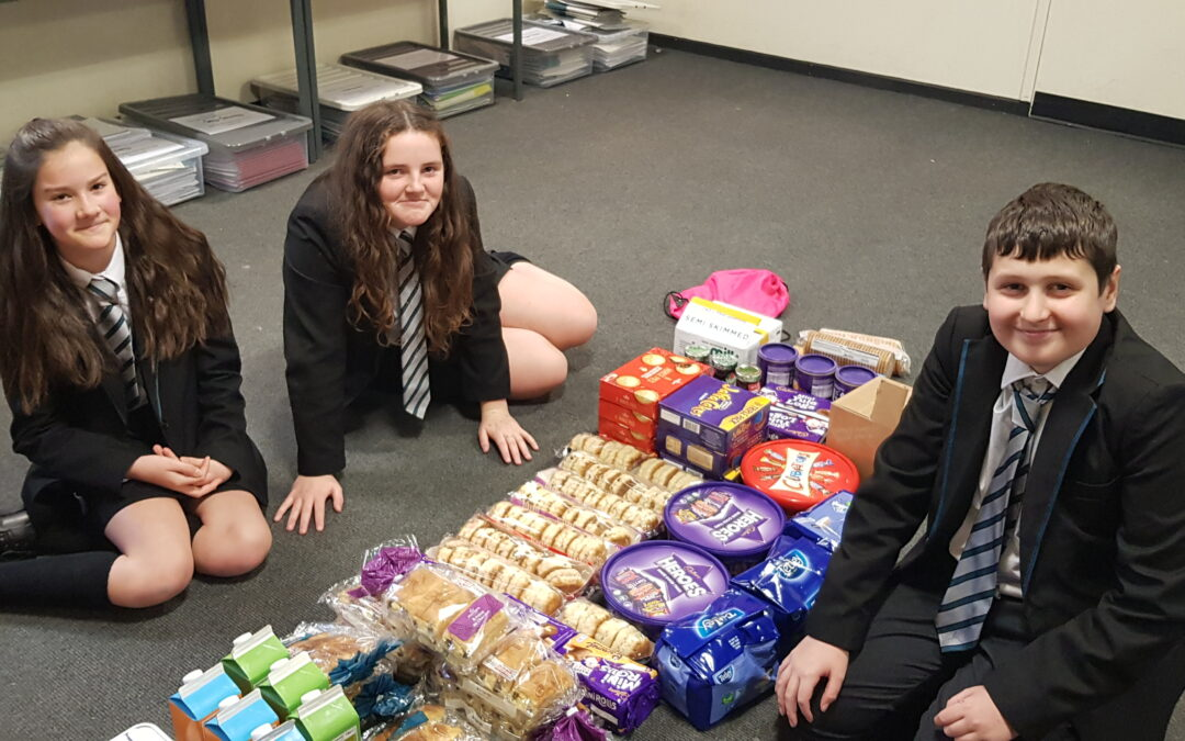 Bay pupils spread joy through winter giving campaign